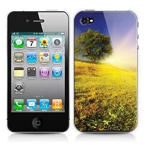 Caso duro para Apple iPhone 4/4s - Puesta de sol en las colinas