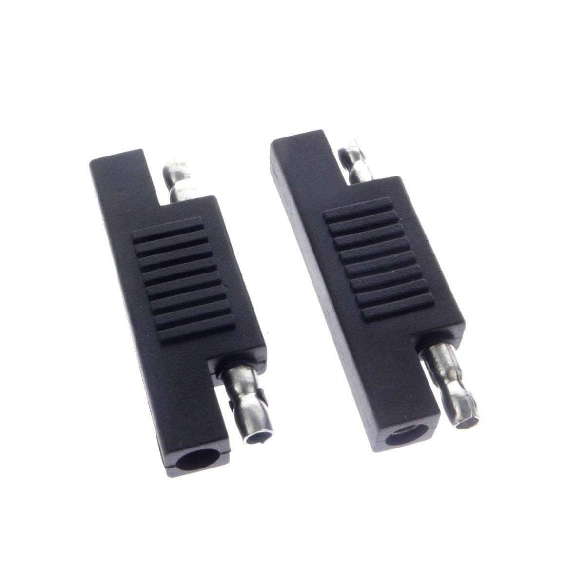 MC4-SAE Dunhil MC4 to SAE Adapter 10AWG//14.8in for RV Solar Panel with 2pcs SAE to SAE Polarity Reverse Connectors