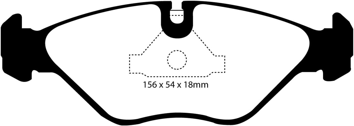 DP3751C EBC Redstuff Brake Pads