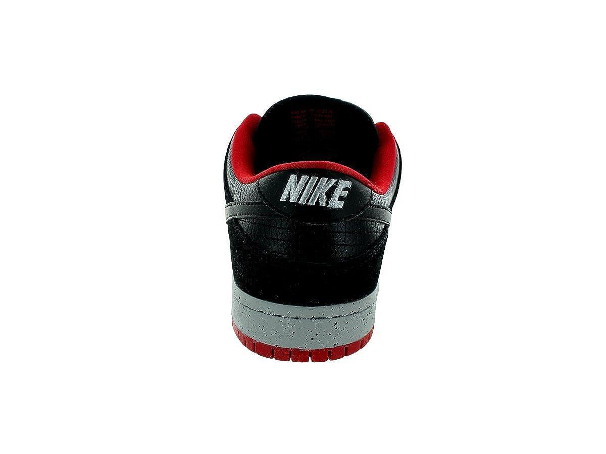 sports shoes fdfc4 ee49e Nike Dunk Low Pro SB, Zapatillas de Skateboarding para Hombre,  Negro Gris Rojo Black-WLF Gry-Unvrsty Rd-, 41 EU  Amazon.es  Zapatos y  complementos