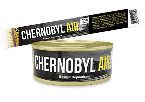 GAG Can of Nuclear Air - Chernobyl - Unique Gift and Souvenir for Friends, Mom, Dad, Birthday Girl, Boy - Funny Present idea in a Tin, hilarious prank 11.8 oz