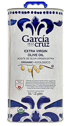 García de la Cruz – Biologische extra vergine olijfolie (EVOO) – 5 l blik