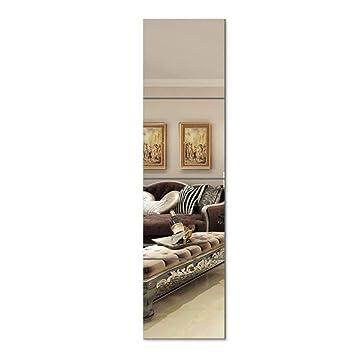 Miroirs En Pied Miroir Mural Rectangulaire Sans Cadre Pour