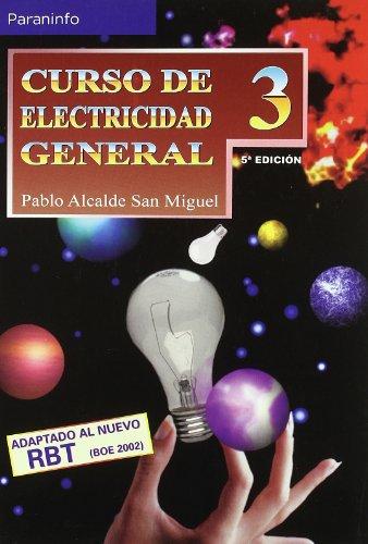 Descargar Libro Curso De Electricidad General. Tomo 3 Pablo Alcalde San Miguel