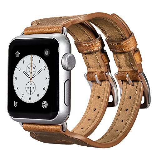 apple-watch-leather-bandicarercase-vintage-series-double-buckle-cuff-leather-band-strap-replacement-