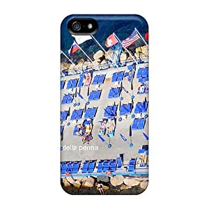 (WBzKhqL5027NtEEI)durable Protection Case Cover For Iphone 5/5s(view Of Penisola Sorrentina Italy)