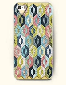 iPhone 5/5S Case, SevenArc Phone Cover Series for Apple iPhone 5 5S Case (DOESN'T FIT iPhone 5C)-- Hexagon Carpet...