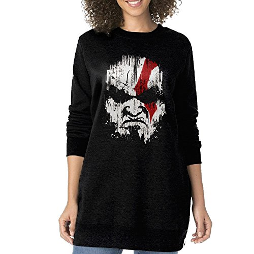 Women Kratos God Of War O-neck Long Sweatshirt (2)