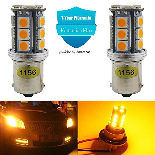 1156a led bulb amber - 3