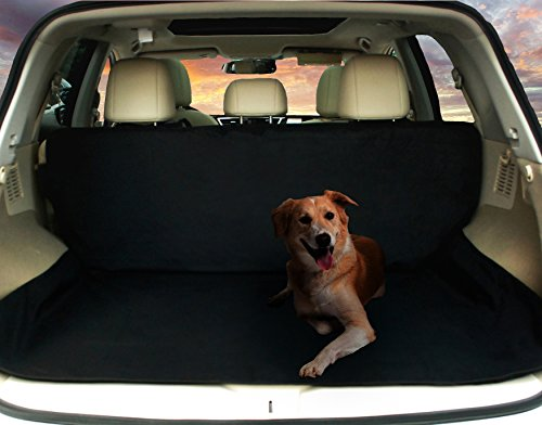 Deluxe SUV Cargo Liner For Pets - Waterproof, Nonslip, Machine Washable Car Seat Cover for Pets, Lifetime (Cargo Crate)