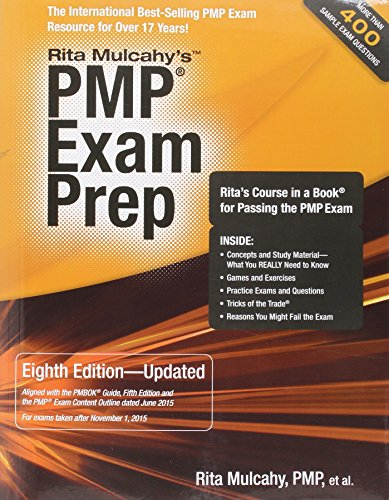 PMP Exam Prep, Eighth Edition - Updated: Rita's Course in a Book for Passing the PMP Exam (Rmc Publications compare prices)