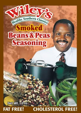Wileys Smoked Beans & Peas Seasoning 1 Oz (Pack of 6)