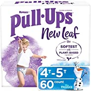 Pull-Ups New Leaf Boys' Potty Training Pants Training Underwear, 4T-5T, 6