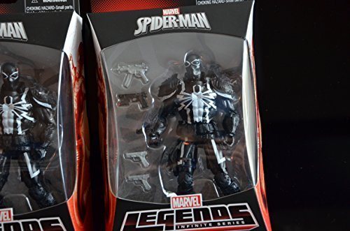 Marvel Spider-Man Marvel Legends Infinite Series Agent Venom Figure ()