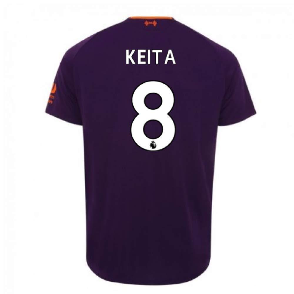 2018-2019 Liverpool Away Football Soccer T-Shirt Trikot (Naby KeïTA 8)