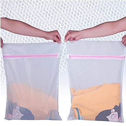 Generic gruesa malla: 3pcs/lot ropa interior ropa Aid Bra Calcetines Lavandería Lavadora Bolsa