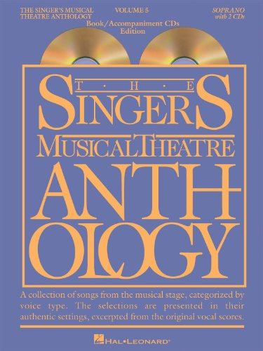 The Singer's Musical Theatre Anthology - Volume 5 - Soprano BK+2CDs