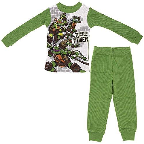 Nickelodeon Big Boys' Teenage Mutant Ninja Turtle Thermal Underwear Set 8 (Ninja Turtle Long Underwear)