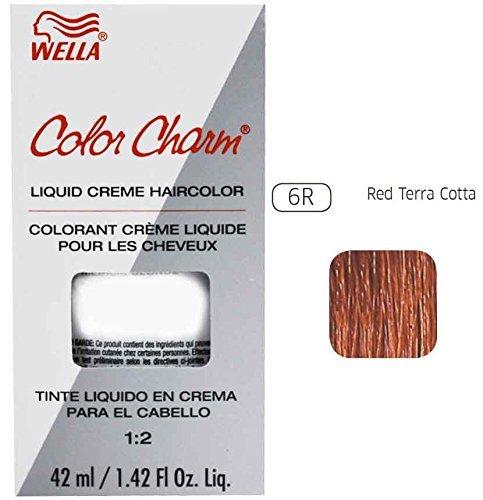 Permanent Red Hair Dye (Wella Charm Liquid Permanent Hair Color, 6r Red Terra Cotta)