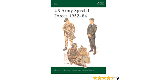 US Army Special Forces 1952–84 (Elite Book 4) (English Edition)