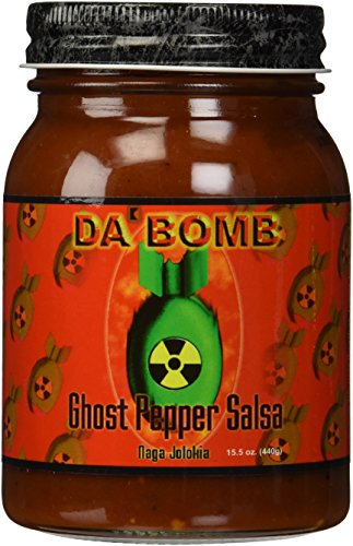 (Da Bomb Ghost Pepper Salsa)