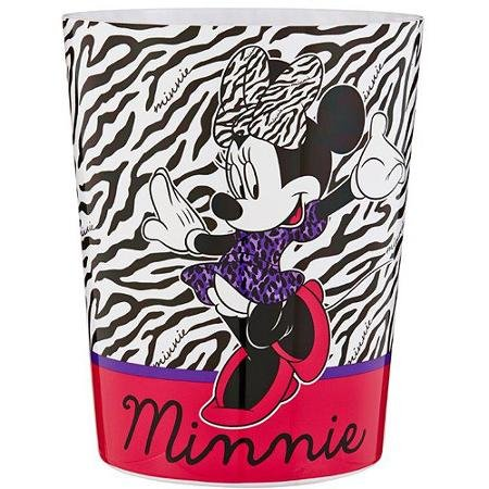 Disney Diva Minnie Mouse Wastebasket - Garbage Can by Disney