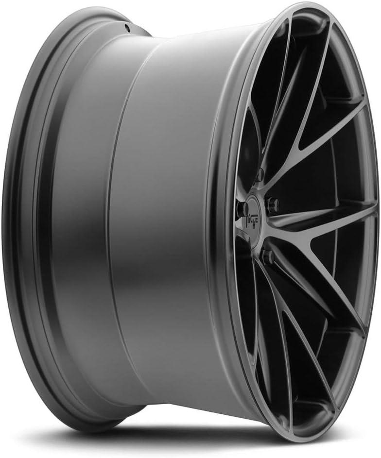 20mm Matte Black Wheel Rim 20 Inch Niche M117 Misano 20x10.5 5x115