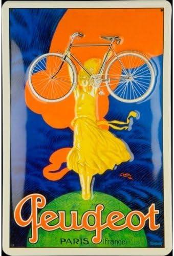 Peugeot diseño de bicicleta, 20 x 30 cm: Amazon.es: Hogar