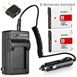 Kastar Battery (2-Pack) and Charger Kit for Sony NP-BG1, NP-FG1, BC-CSG and Sony Cyber-shot DSC-H50, Cyber-shot DSC-H10, Cyber-shot DSC-W120, Cyber-shot DSC-W170, Cyber-shot DSC-W300 Digital Cameras