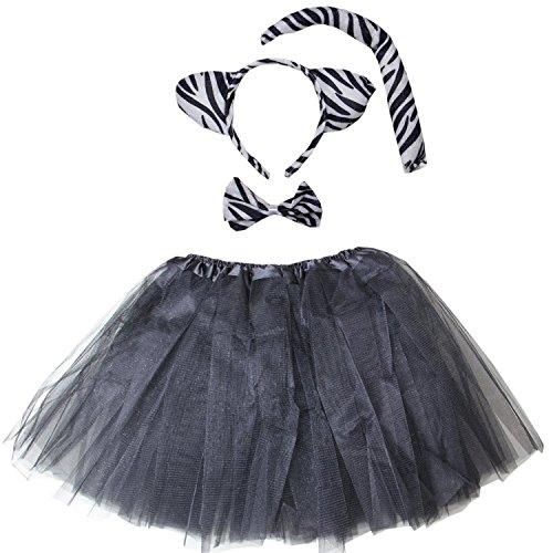 Kirei Sui Kids Costume Tutu Set Black