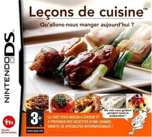 Personal Training Cooking Lecons De Cuisine Vf French Game