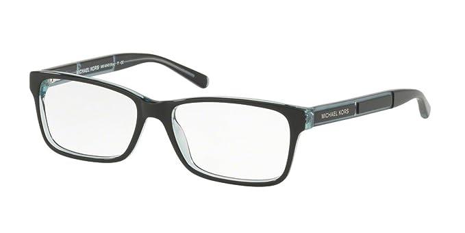 Amazon.com: Michael Kors KYA MK4043 Eyeglass Frames 3250-51 - Black ...