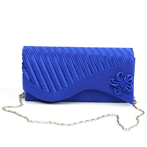 Clutch königsblau Black size blau One Damen Ginger H1xWqgz0
