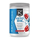 KetoLogic BHB – Keto Supplement – Suppresses Appetite/Increases Energy/Low Carb/Electrolytes/Beta-Hydroxybutyrate Salts  – Patriot Pop, 30 Servings For Sale
