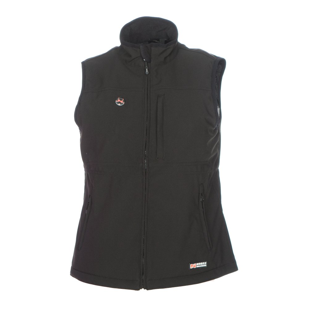 Mobile Warming Women's Heated Whitney Vest - (Black, Large)