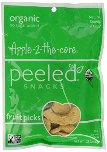 Peeled Snacks Organic Apple 2 The Core, 1.23 oz