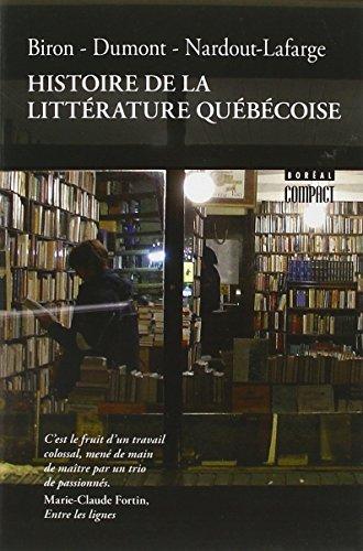 Histoire de la Litterature Quebecoise