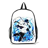 Dreamcosplay Ao no Exorcist Okumura Rin Backpack Student Bag Cosplay