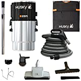 Husky Nuera Air Zen Central Vacuum with Accessories