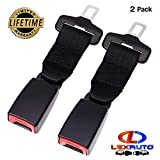 #3: LexAuto 7'' Car Seatbelt Extender 2-Pack, 7/8'' Metal Tongue, Safety Certified, Seatbelt Extenders for Child car Seats, Suitable for Most Cars