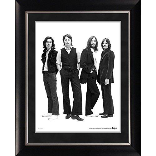 Beatles Portrait - Steiner Sports The Beatles 1970 Group Portrait 11 inch x 14 inch Framed Photo