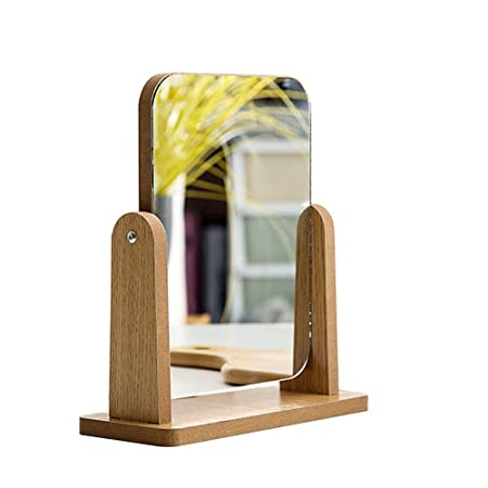 Faviye 1PC Mirror Makeup Rotation Ajustable 180 ° Espejo de Mesa ...