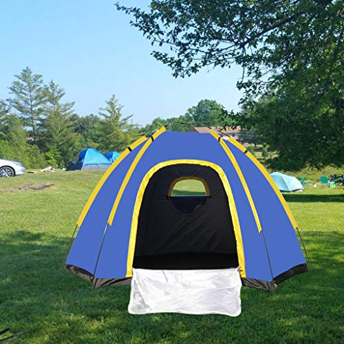 Clearance Sale!DEESEE(TM)Tent for Camping 3-4 Person Lightweight Backpacking Outdoor Tent US Stock (Jacks Outdoor)