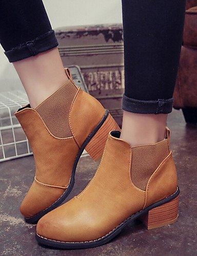 Schuhe Stiefel Geschoben Absatz Citior Korean Damen Casual British Style Stiefelletten Beute Damen Vintage zxxRq6pn