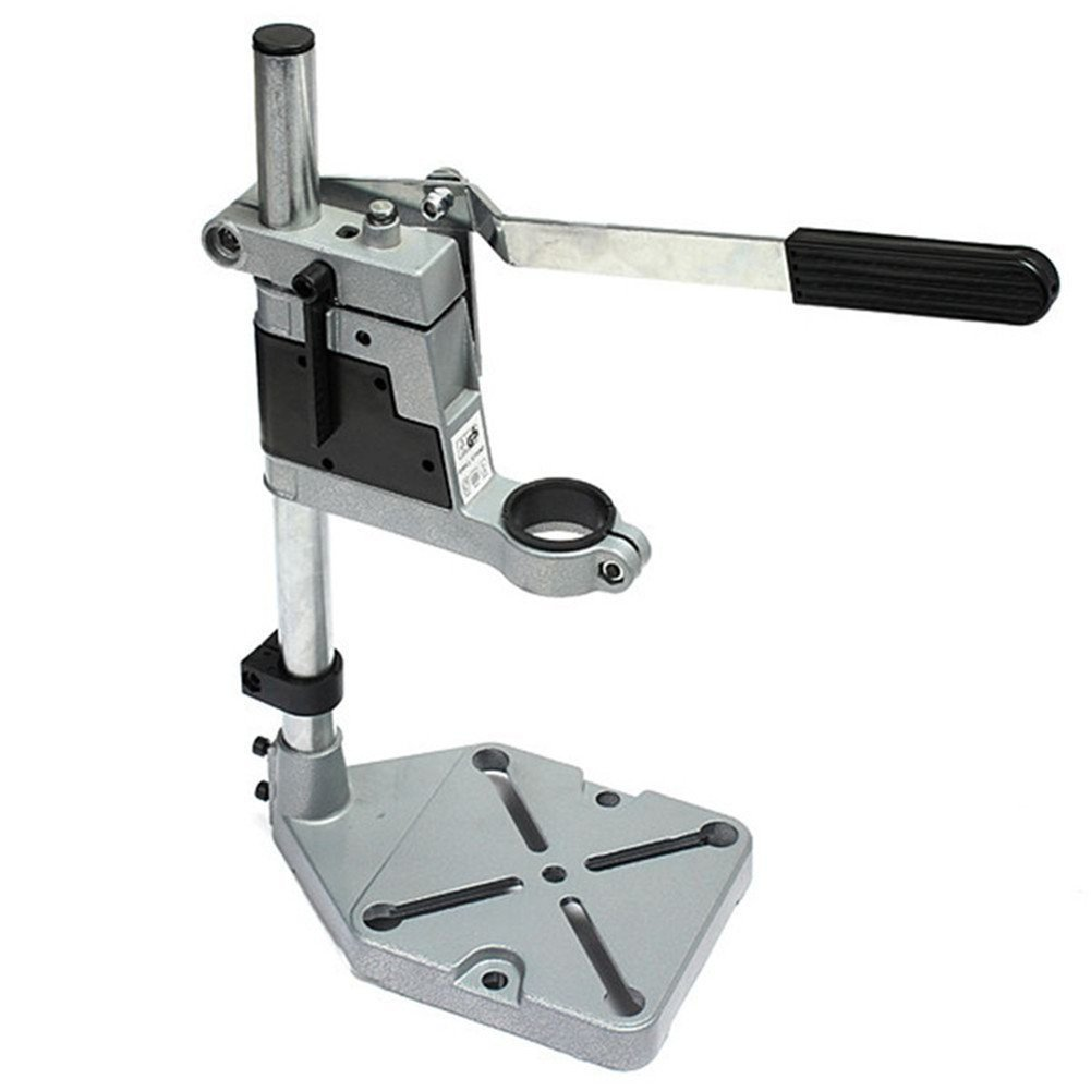 Drill Press Stand Rotary Tool Holder Workstation Workbench Repair Tool Clamp for Drilling Collet by AMYAMY