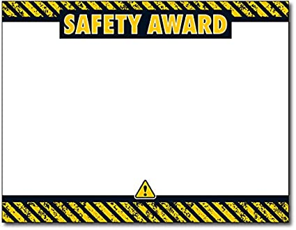 amazon com safety award certificate 25 certificates office