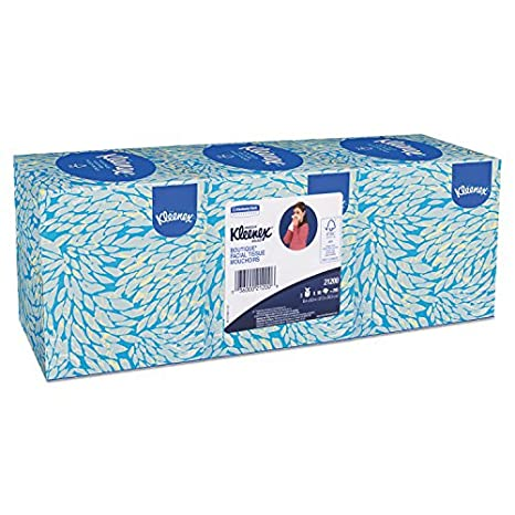 Kleenex KCC 21200 Facial Tissue, Pop-up caja, color blanco (Pack ...
