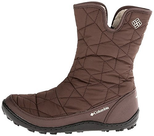 Columbia Women's Powder Summit Slip Waterproof Mid Boots -25F Insulated Shoes (8)