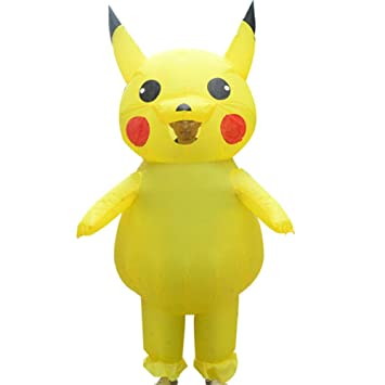 Ss Ropa Inflable Muñeca De Dibujos Animados Pikachu rol ...