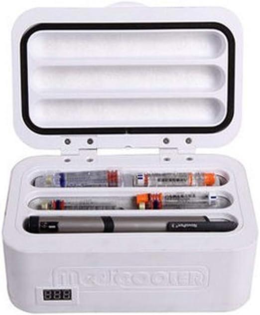 WYJW Ice Refrigerator Insulin Refrigerated Box Car Portable para ...